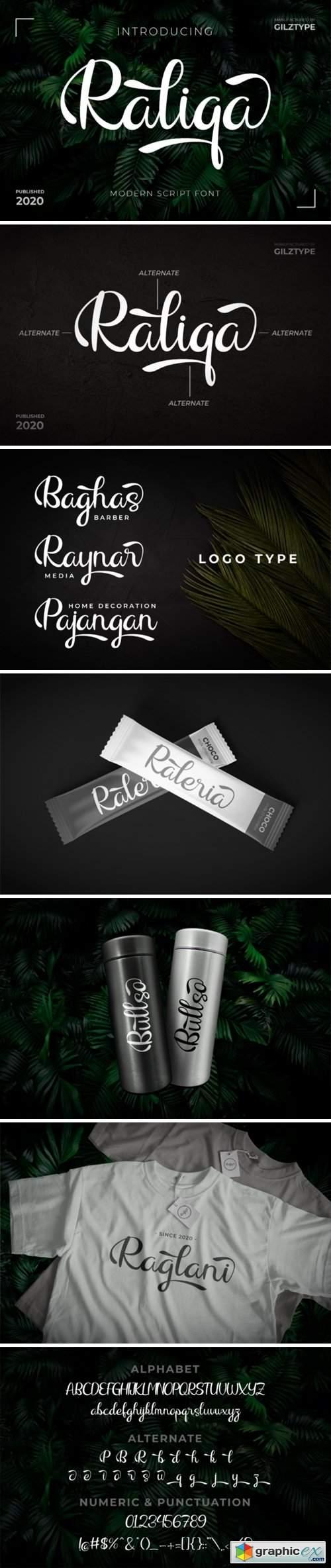 Raliqa Font