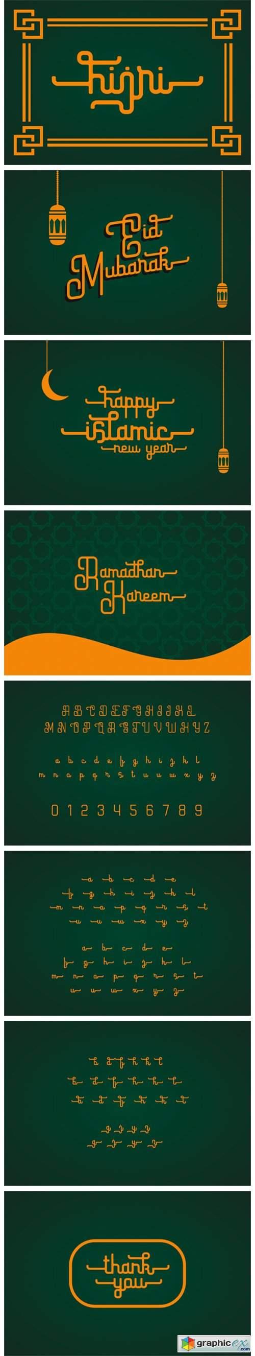 Hijri Font