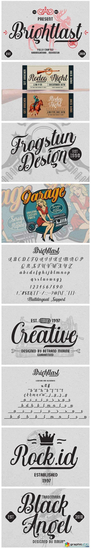 Brightlast Font