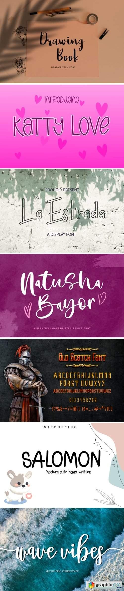 Creative Font Bundle 17