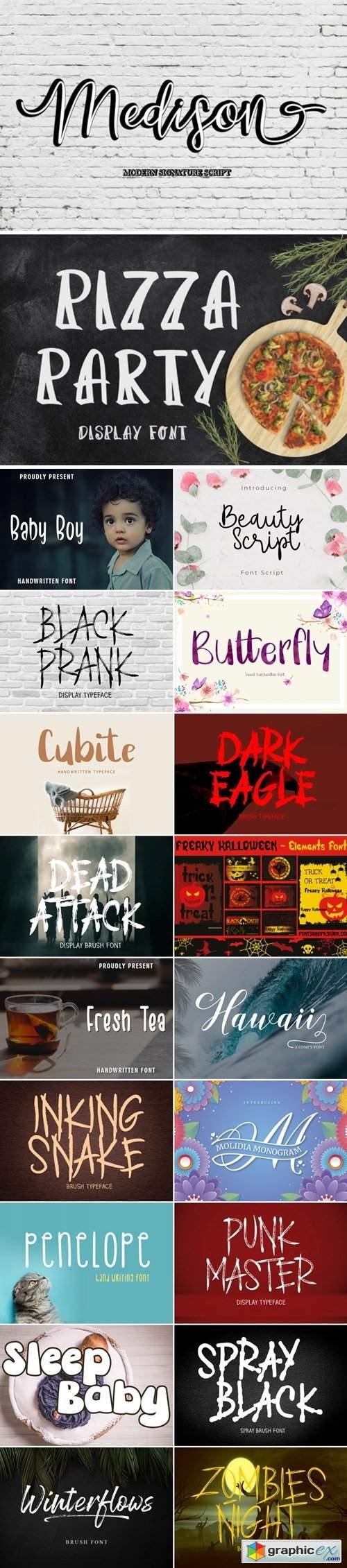 Creative Font Bundle 16