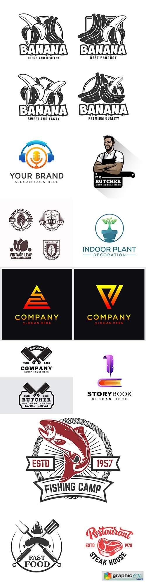 Brand name company logos business corporate design 42