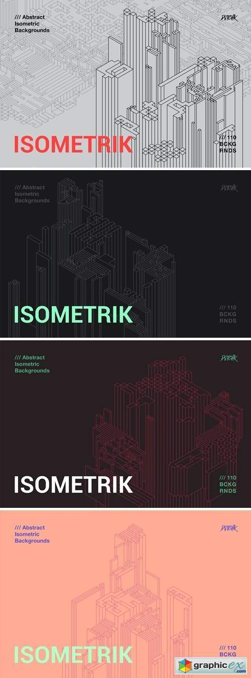 Isometrik | Abstract Isometric Backgrounds