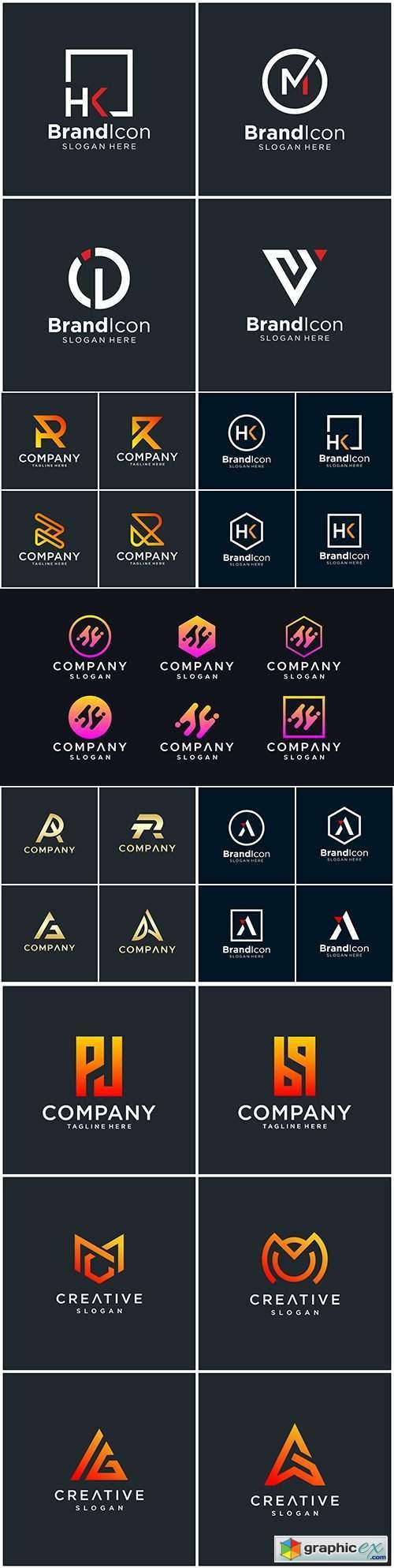 Brand name company logos business corporate design 40