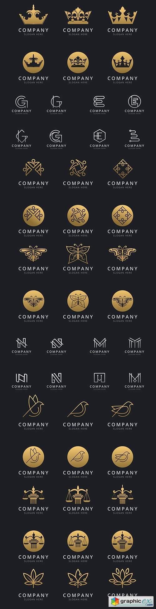 Brand name company logos business corporate design 36