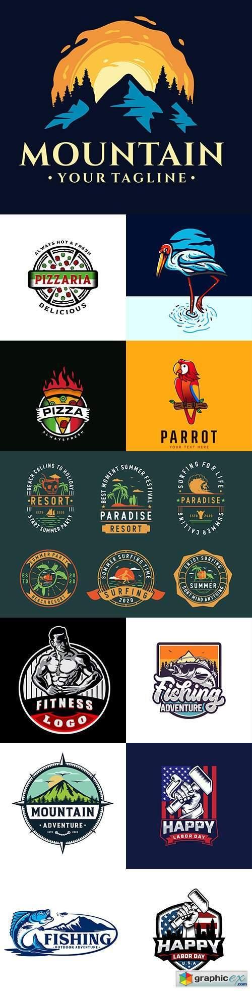 Brand name company logos business corporate design 35