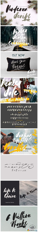 Moderna Script Font