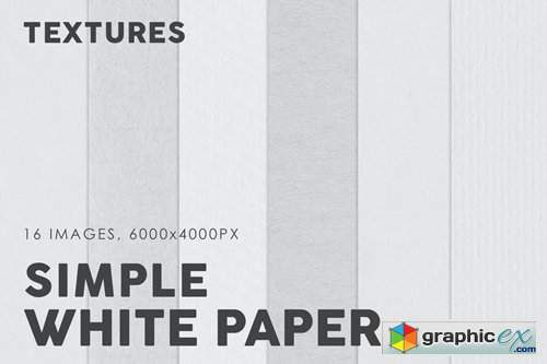 White Simple Paper Textures