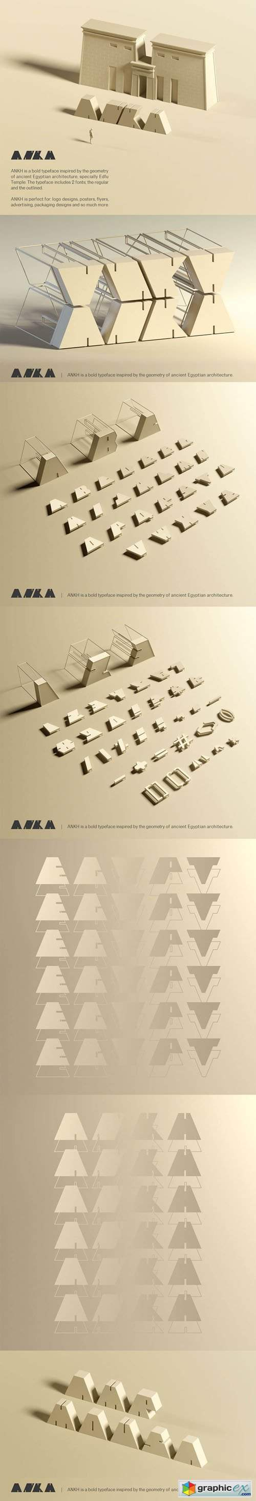 Ankh - Decorative Bold Typeface [2-Weights]
