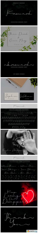 Krisward Font