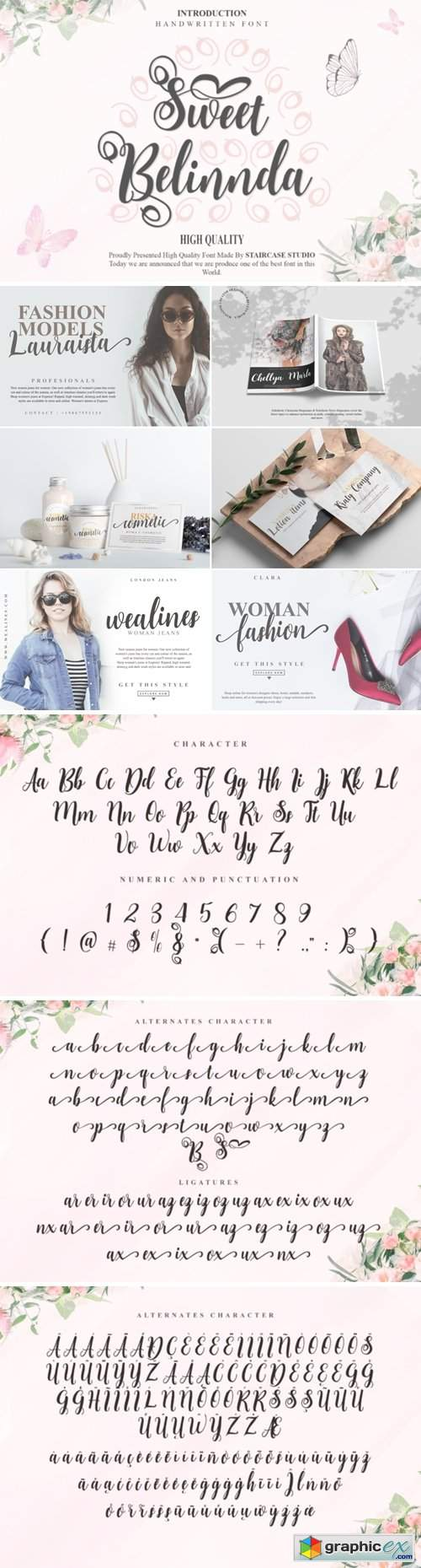 Sweet Belinnda Font