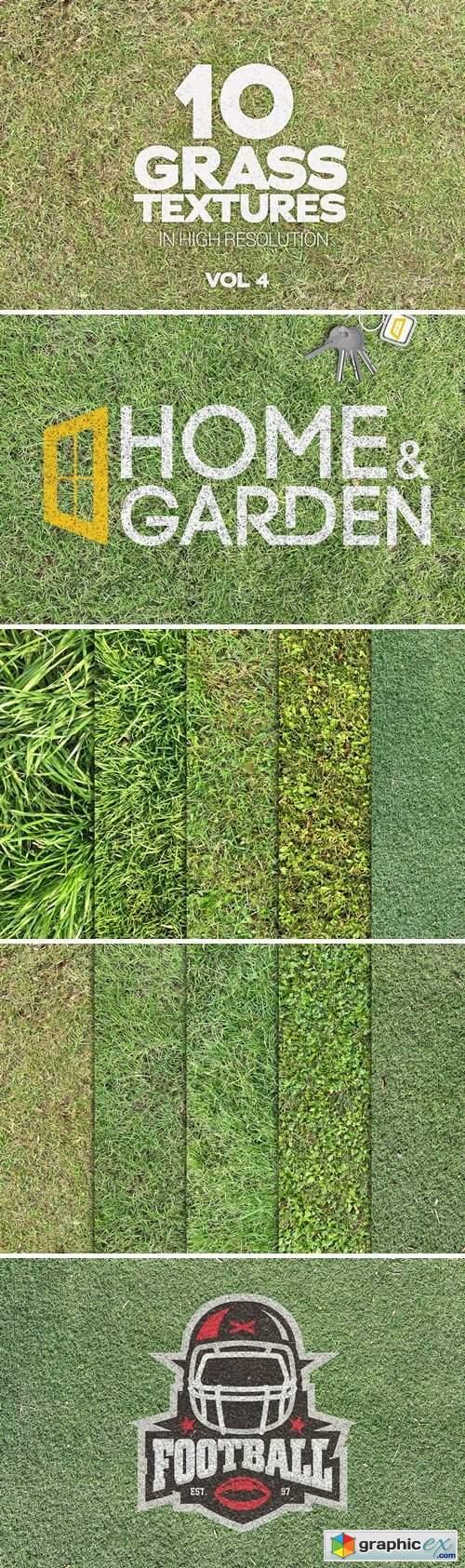 Grass Textures x10 Vol 4