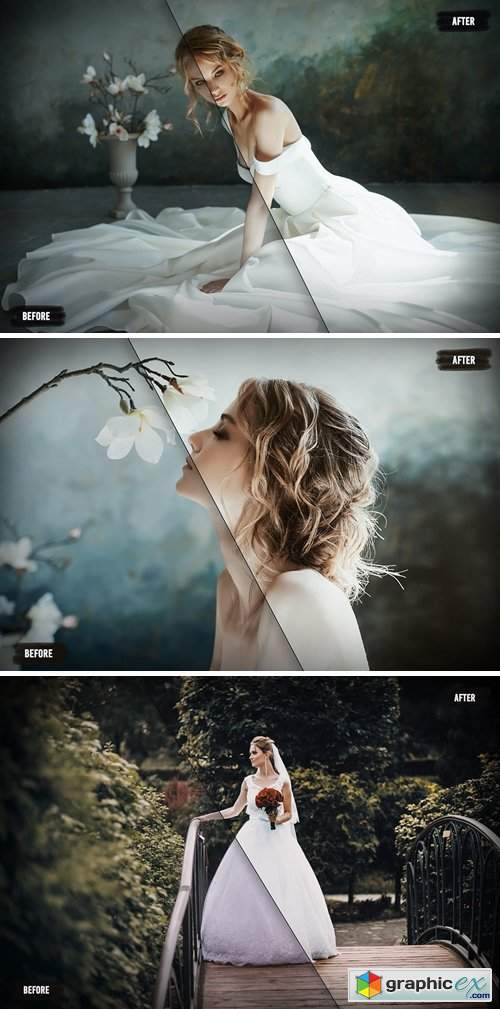 50 Film Wedding LUTs (Look Up Tables)