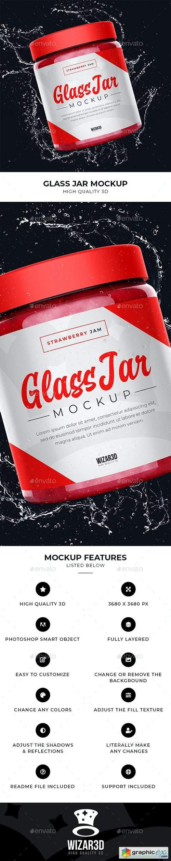 Glass Jar Mockup 27672560