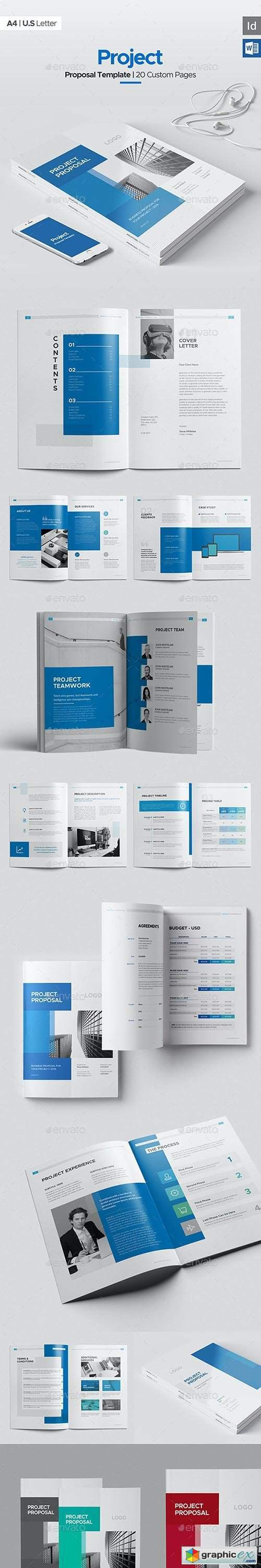 Project Proposal 20 Pages, Word Proposal
