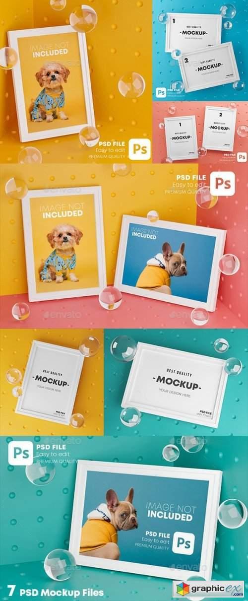 Stylish Frame Mockup Pack
