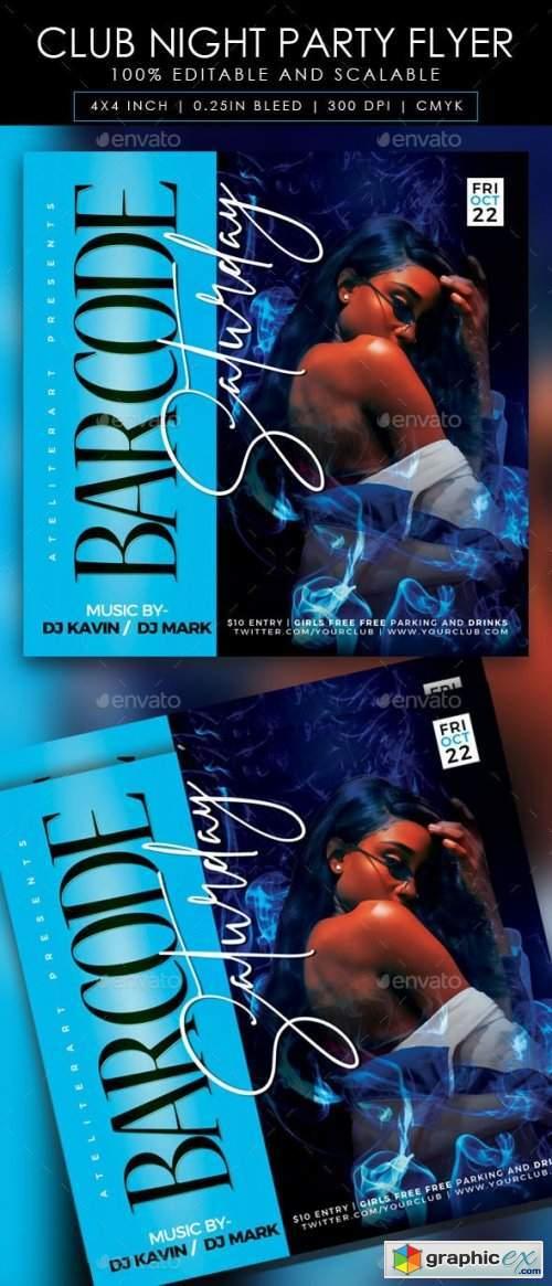 Club Night Party Flyer 28285733
