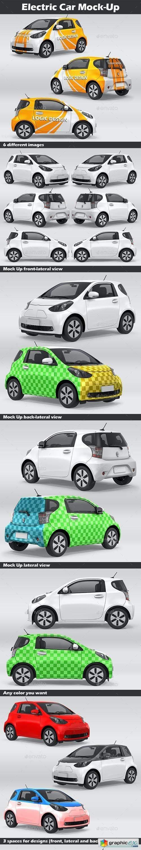Electric Car Mock-Up 26723780