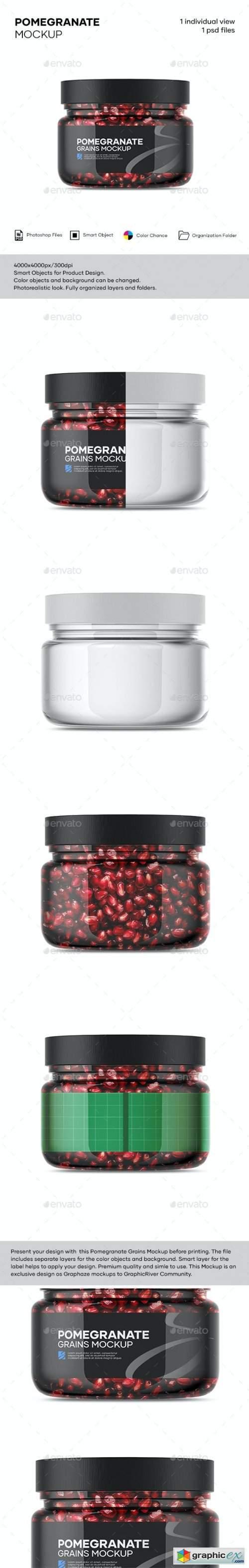 Pomegranate Mockup