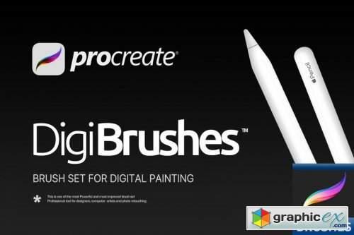 RM Digital Brushes (for Procreate)