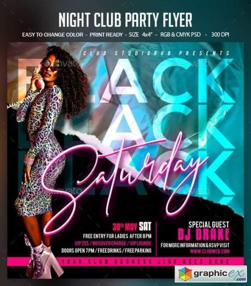 Night Club Party Flyer 28450185