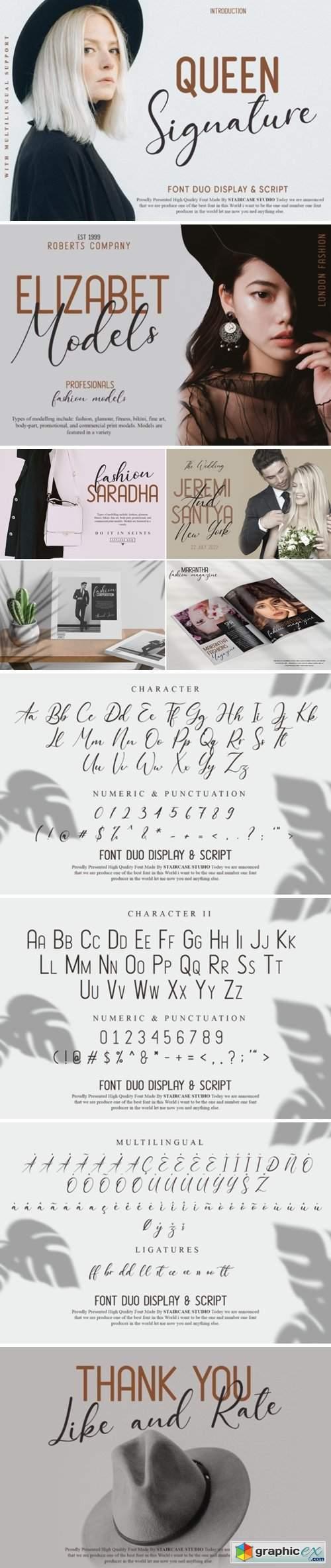 Queen Signature Font