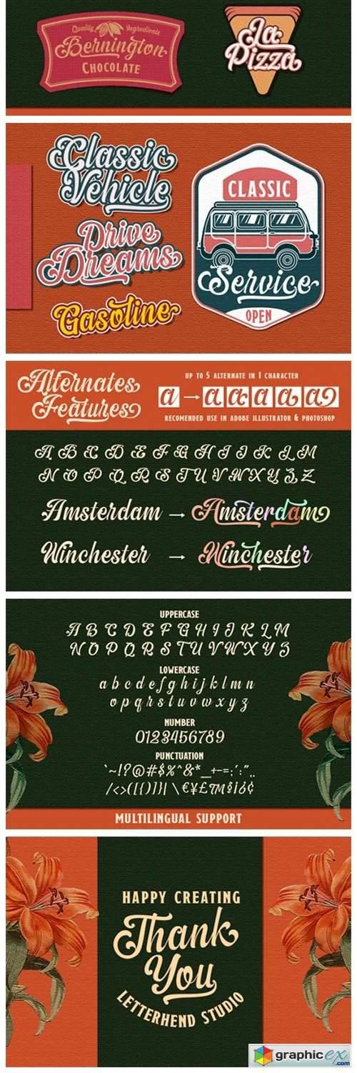 The Amberton Font