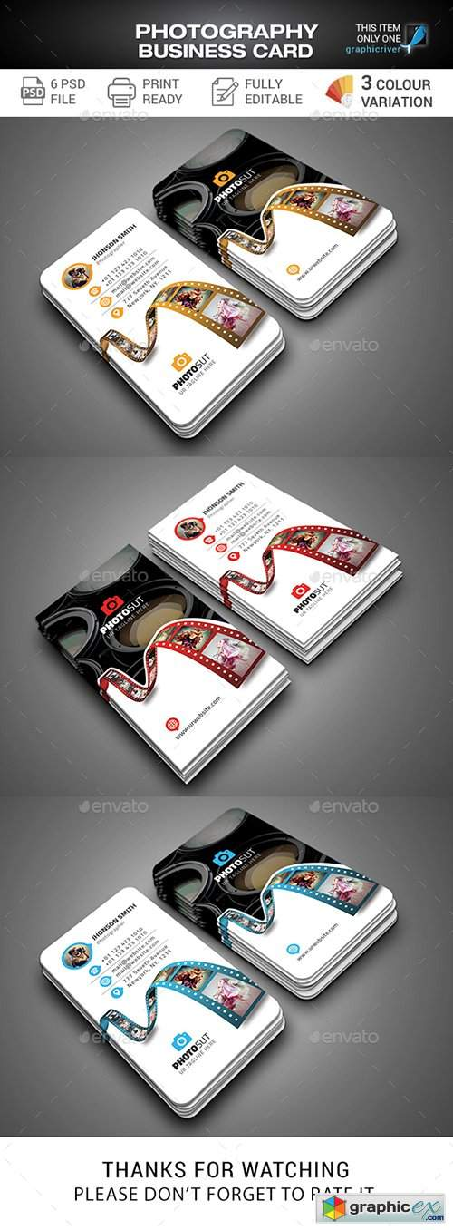 Photography Business Card 27995718
