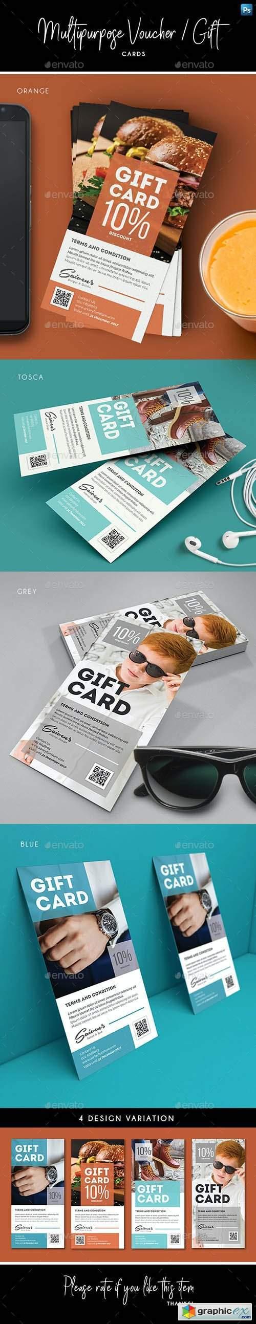 Multipurpose Voucher / Gift Card 27924838