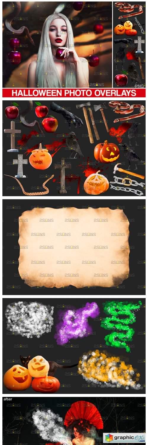 Halloween Clipart Halloween Overlays