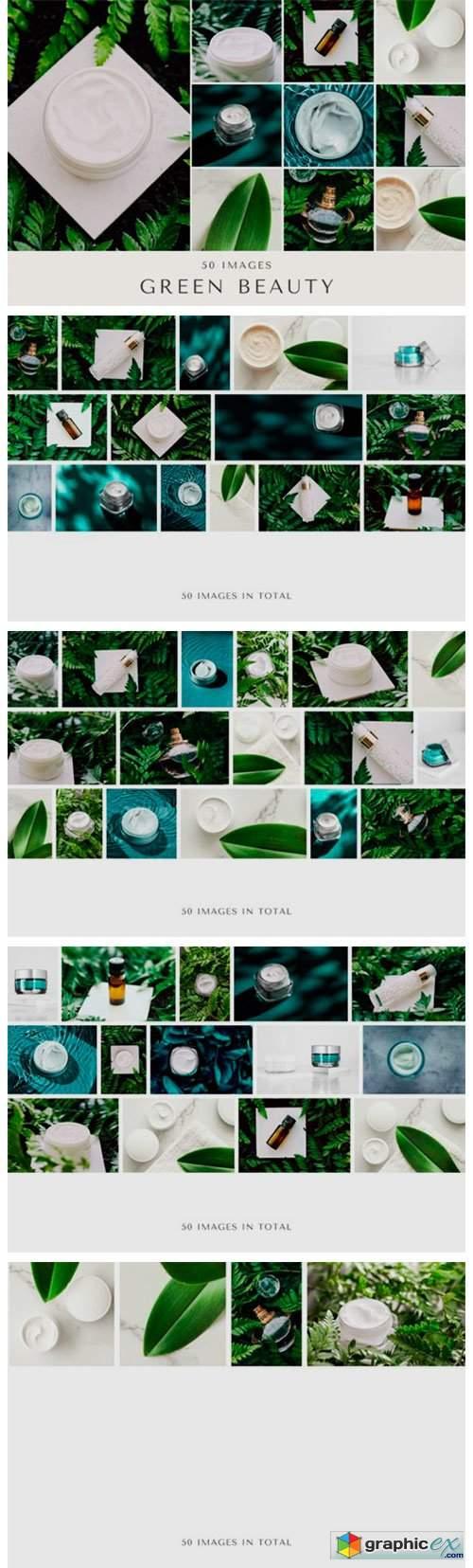 50 Images | Green Beauty Bundle
