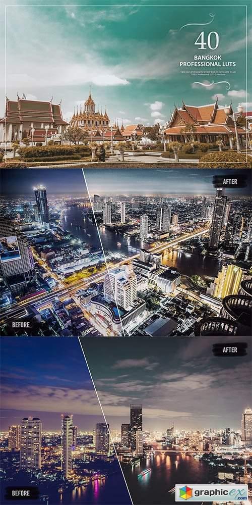 40 Bangkok LUTs (Look Up Tables)