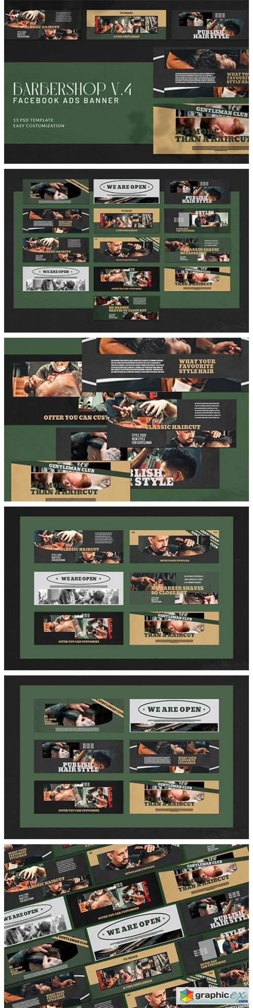 Barbershop V4 Facebook Ads