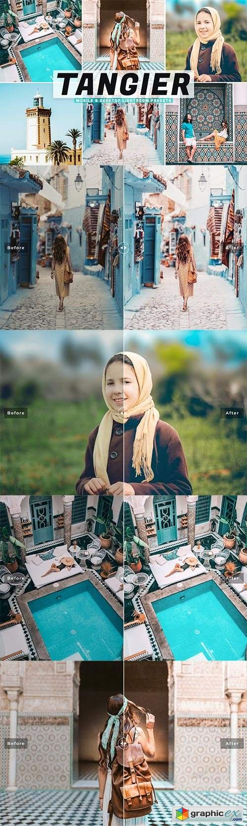 Tangier Mobile & Desktop Lightroom Presets
