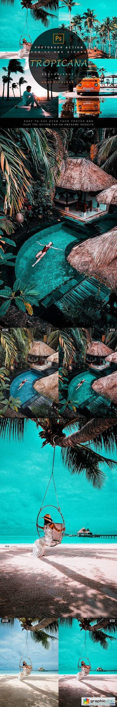 Tropicana - Photoshop Action