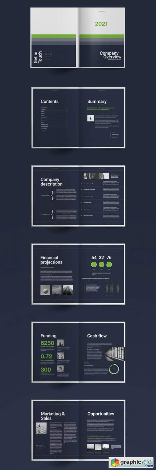 Business Brochure Layout 5407241