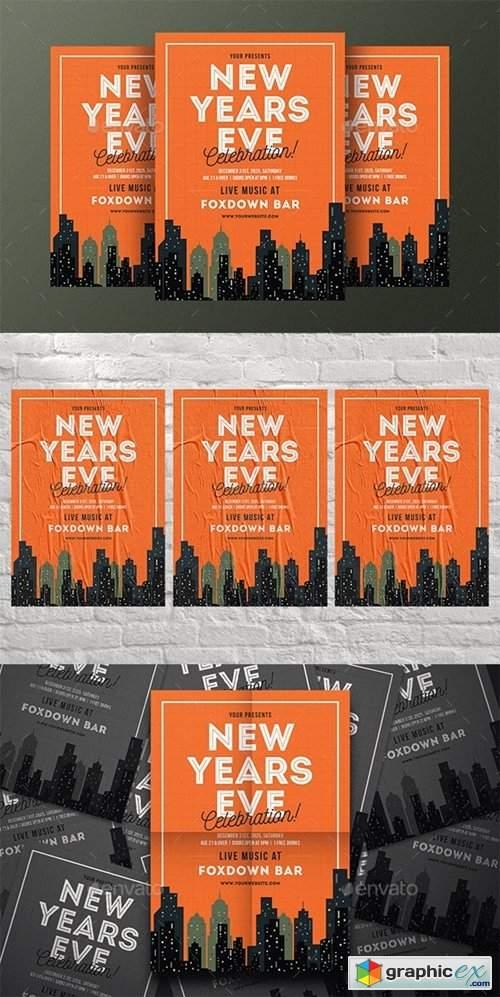 New Years Celebration Flyer 25286522