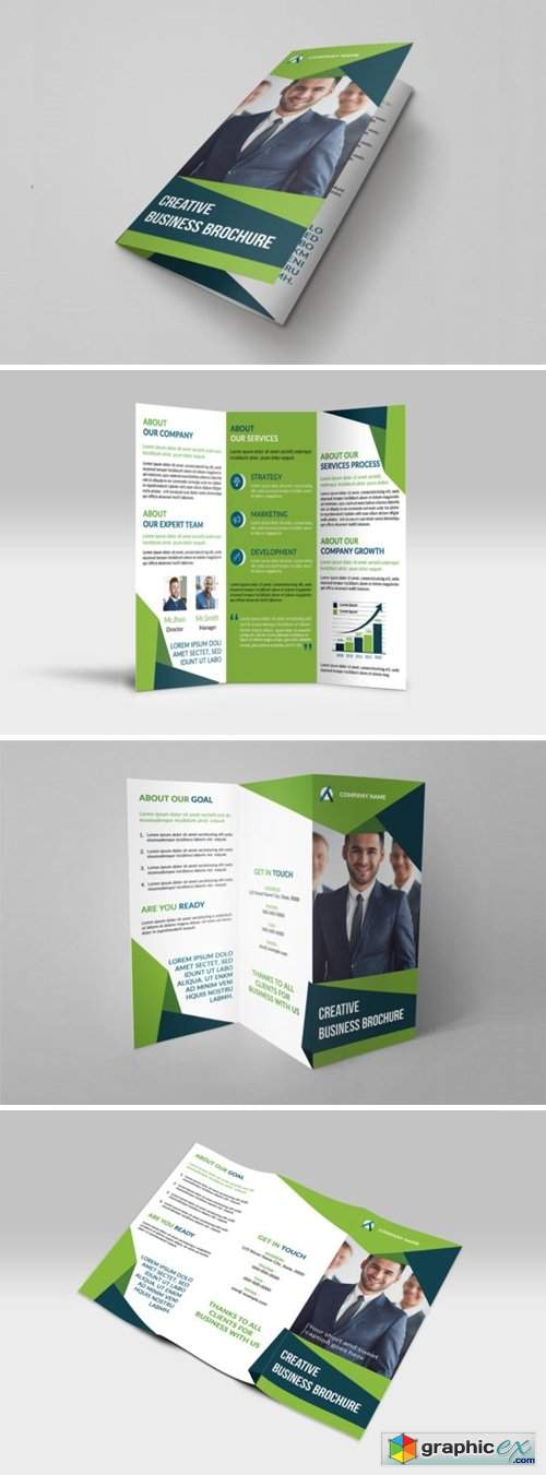 Trifold Business Brochure Template 5895473