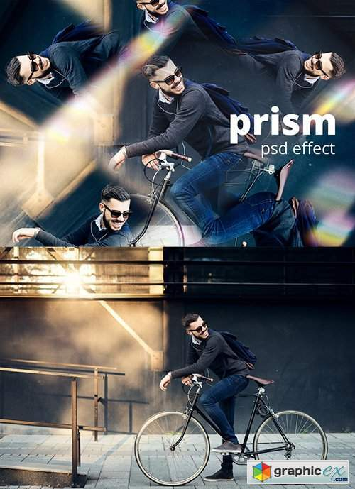 Prism Photo Effect
