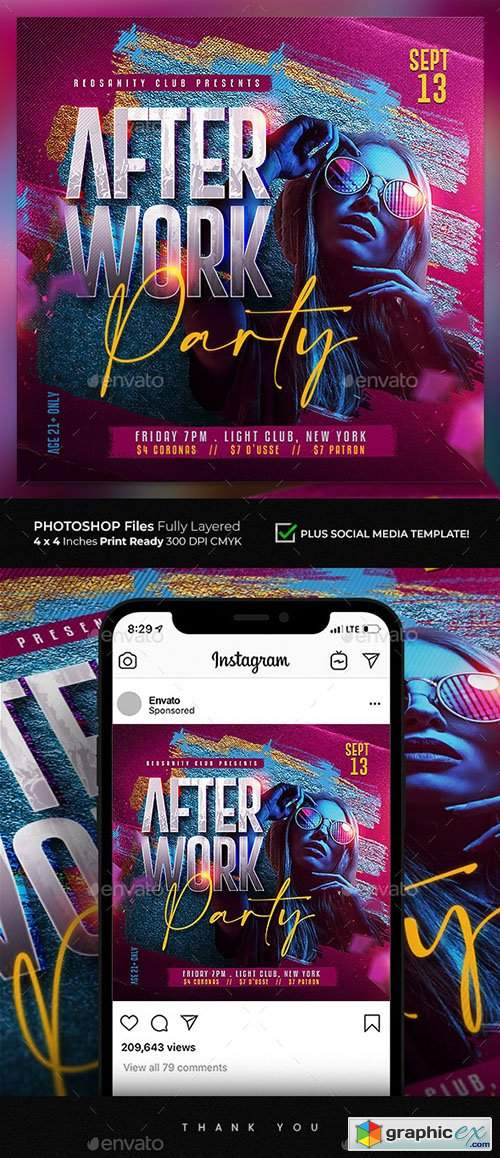 Club Party Flyer 28274260