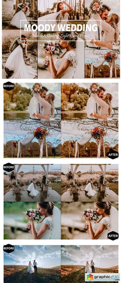 10 Moody Wedding Lightroom Presets