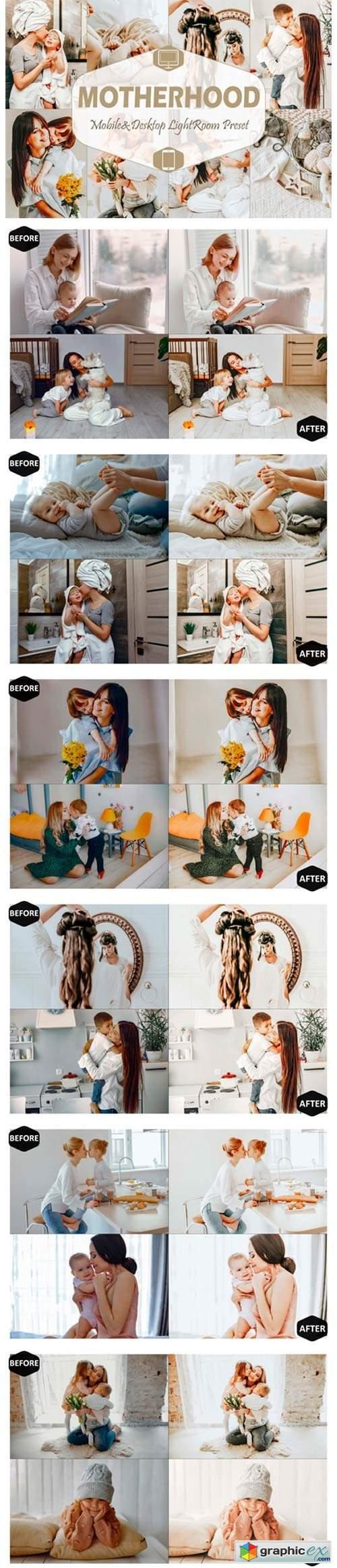 10 Motherhood Mobile Lightroom Presets