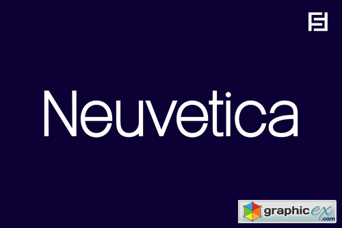 Neuvetica - Authentic & Timeless Swiss Typeface