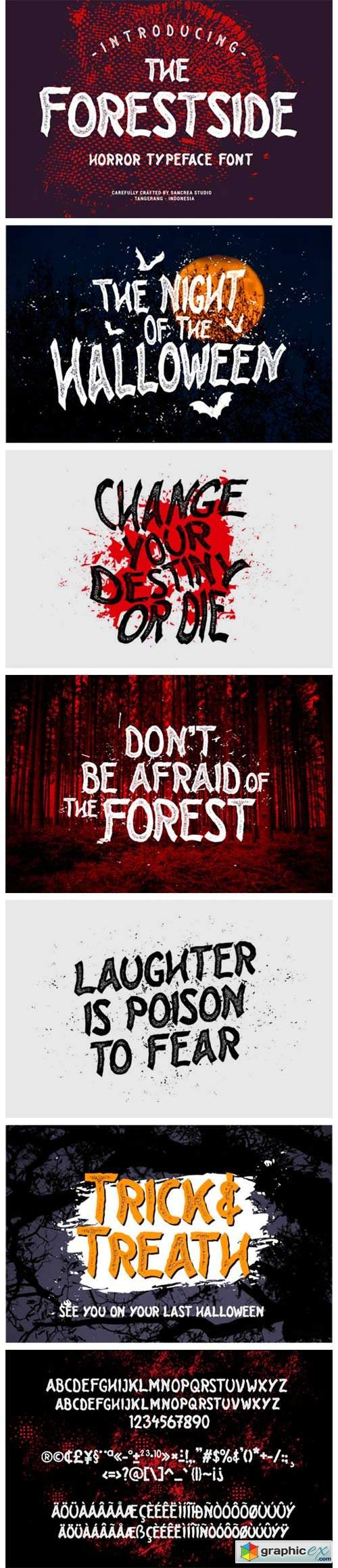 Forest Side Font