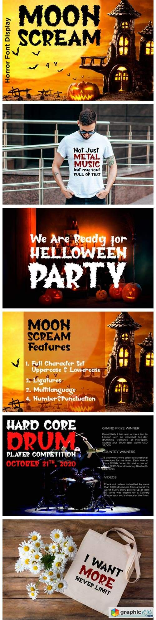 Moon Scream Font