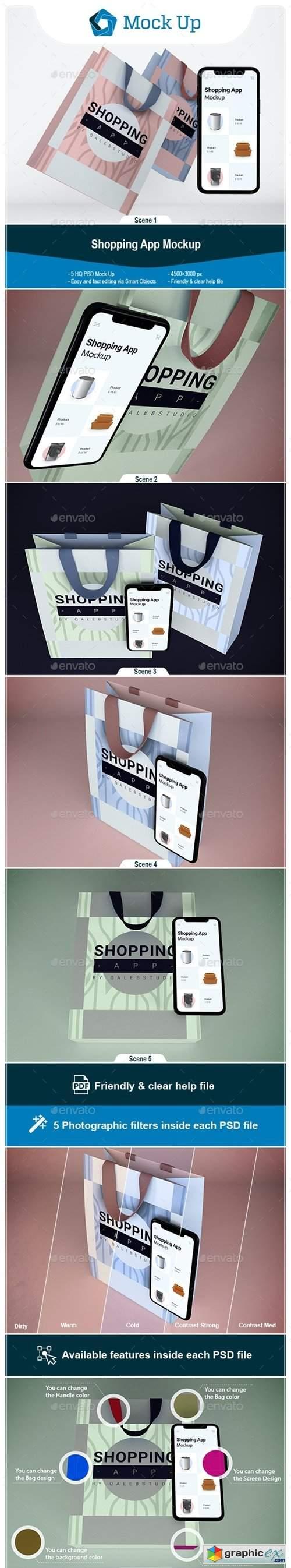 Shopping App Mockup