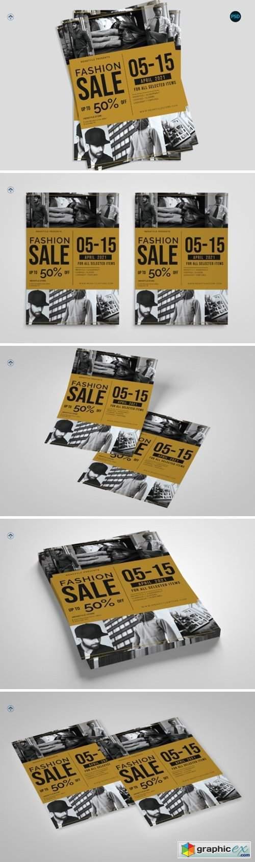 Fashion Sale Flyer V1