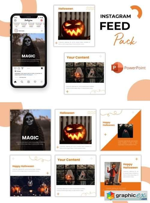 Instagram Feed - Magic Halloween