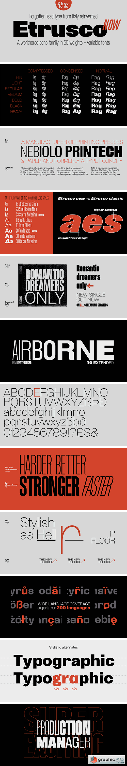 Etrusco Now Font Family