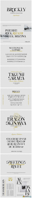 Brockly Font